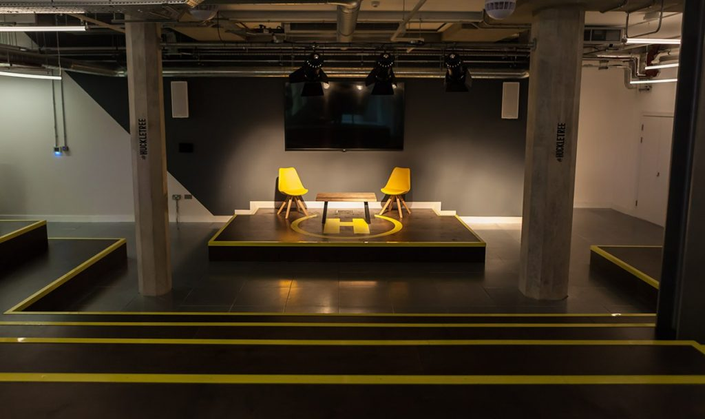 Huckletree, Alphabeta Building, London